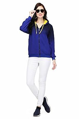 High Hill Women's Hooded Zipper Sweatshirt