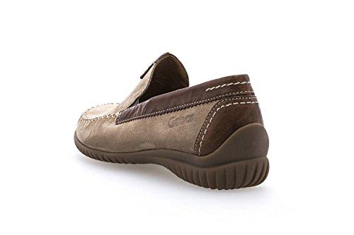 Gabor Shoes Comfort Basic, Mocassins Femme Beige (Corda/copper)