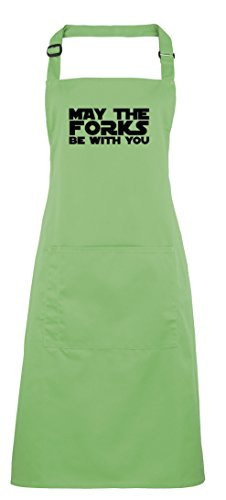 Brand88 - May The Forks Be With You, Printed Apron