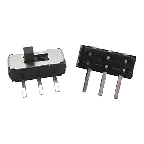 Goliton 20X MSK-12D19 (1P2T)3PIN commutateur à bascule commutateur à glissière de micro interrupteur/toggle switch micro switch slide