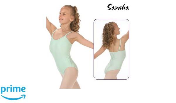 SANSHA E506M ANGELA Vêtements de danse Justaucorps pour Fille en  Meryl Lycra - Noir - EU  90 cm 4 ans (Taille Fabricant  B)  Amazon.fr   Sports et Loisirs 0ad72ca0bbf