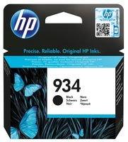 HP 934 Black Original Ink Cartridge - Cartucho de tinta para impresoras (Negro, Estándar, 400 páginas)
