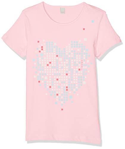 ESPRIT KIDS Mädchen Short Sleeve Tee T-Shirt, Rosa (Light Pink 311), 170 (Herstellergröße: XL) -