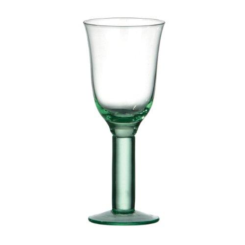Premier Housewares Weinkelch, grün, 9x 9x 22cm