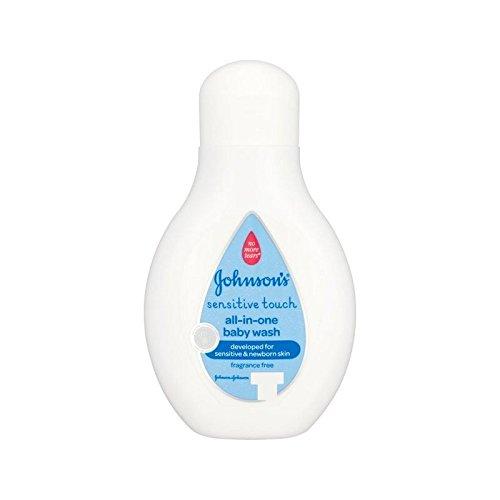 Sensibile Al Tocco Bambino Di Johnson All-In-One Wash 250Ml - Confezione da 2
