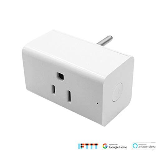 KAR Spina Smart Socket, Adattatore Smart Socket WiFi Senza Fili per Telecomando per Aprire e chiudere la Spina Senza hub