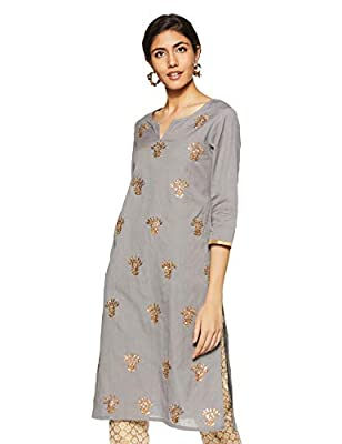 Amazon Brand - Myx Women's A-Line Kurta