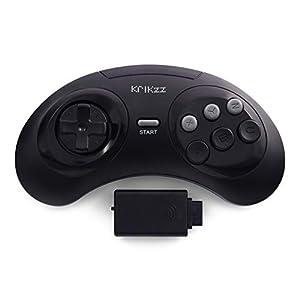 Joyzz Wireless Controller Gamepad für Original SEGA Genesis, Megadrive