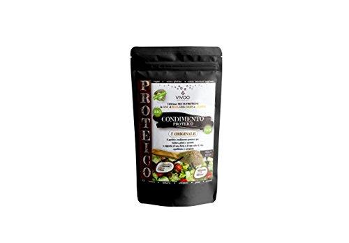VIVOO RE-EVOLUTION | MIX/CONDIMENTO PROTEICO L'ORIGINALE| Biologico, Raw | Senza Zuccheri aggiunti | No: glutine, Latticini, Soia, OGM | Vegano, Kosher | Ricco di Nutrienti | Confezione 150 g cad.