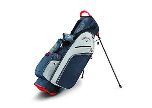Callaway Fusion Zero Sac de Golf pour Homme Taille Unique Titane/argenté/Blanc