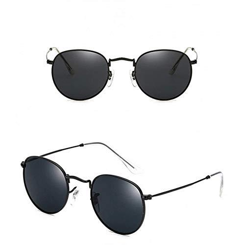 YOGER Sonnenbrillen Isummer Bunte Runde Stil Brille Metall Brillengestell Sonnenbrille Charme Mädchen Lässige Eyewear Outdoor Zubehör