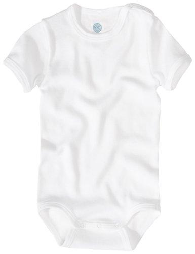 Sanetta 320500 Unisex - Baby Babykleidung/ Unterwsche/ Bodys, Gr. 86 Wei