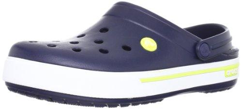 Crocs Crocband II.5 Clog, Sabots Mixte Adulte Bleu (Navy/Citrus)