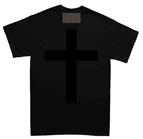 Renowned Have Faith Unisex - Kinder T Shirt Schwarz