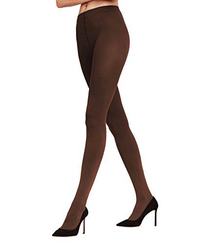 FALKE Damen Strumpfhose / Strickstrumpfhosen Cotton Touch - 1 Paar, Gr. S-M, schwarz, weiche Baumwolle verstärkt -