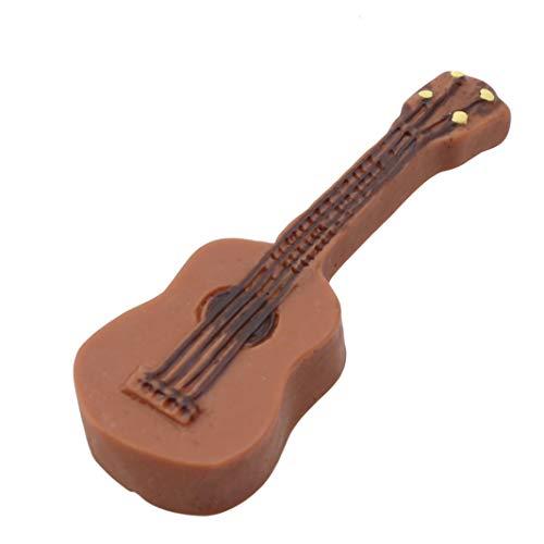 Handwerk Miniatur DIY Fee Garten Gitarre Ornament Puppenhaus Dekoration für Geschenk ()