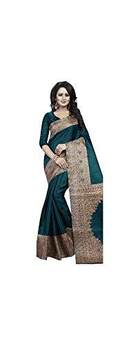 Sari Tuch (Indian Bollywood Wedding Saree indisch Ethnic Hochzeit Sari New Kleid Damen Casual Tuch Birthday Crop top mädchen Cotton Silk Women Plain Traditional Party wear Readymade Kostüm)