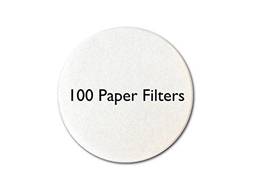 my-cap 100Papier Filter für Gebrauch mit Kappen zur Wiederverwendung Kapseln für Nespresso vertuoline Brauer (Brauer Filter)