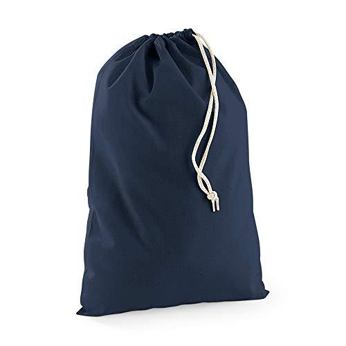 Westford Mill Stoffsack, Baumwolle, verschiedene Größen (S) (Marineblau)