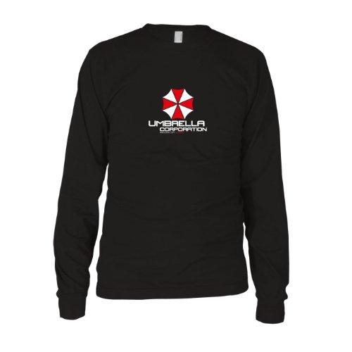 Umbrella Corporation - Herren Langarm T-Shirt Schwarz