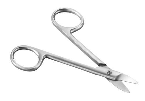 Tifall Mikroverzahnte Nagelschere aus Chirurgenstahl, 1er Pack (1 x 1 Stück)