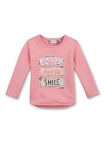 Sanetta Baby-Mädchen Sweatshirt 114165, Orange (Peach 2149), 56 (Sweatshirts Mädchen Baby)