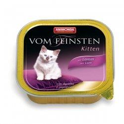 Animonda vom Feinsten Kitten Lamm 100 g , Futter, Tierfutter, Nassfutter für Katzen