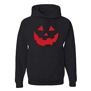 EUZeo Herren Einfarbig Kapuzenpullover Hoodies Sweatshirts mit Kapuze Halloween Stil Printed Pullover Pulli Kapuzensweatshirts Trainingsanzug