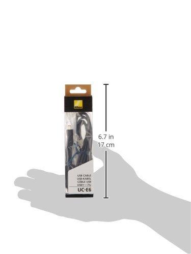 Nikon-UC-E6-Cavo-USB-per-Coolpix-Nero