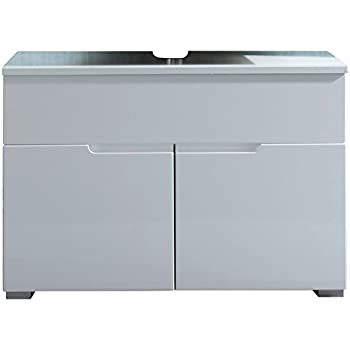 Waschbeckenunterschrank Waschtischunterschrank Unterschrank SABIA ... | {Waschtischunterschrank weiß 89}