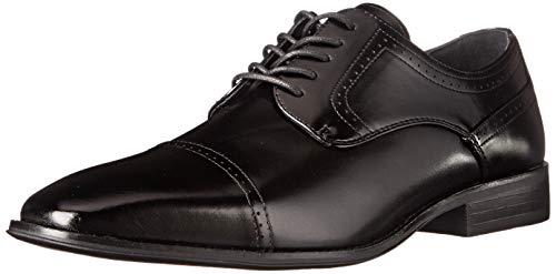 Preisvergleich Produktbild STACY ADAMS Men's Waltham Cap Toe Oxford Black 10.5 EE US