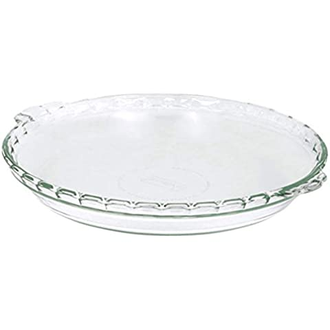 Pyrex Basics Round Glass Bakeware 9.5 in. x 1.6 in.