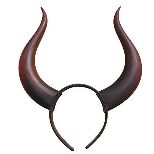 Black Rock Shooter cosplay prop ox-head hair - Pin Head Kostüm