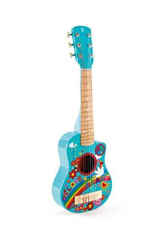 Hape International Flower Power Guitarra Hippie, Talla única E0600