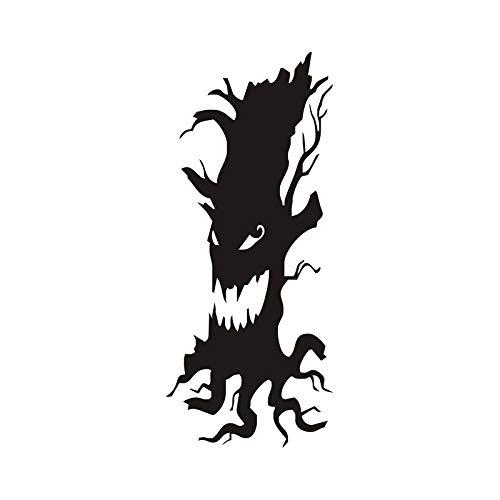 ve Scary Baum Entfernbare Wandaufkleber Für Kinderzimmer Halloween Dekoration Halloween Aufkleber Wandbild Tapete Party Home Dekorationen 43x103 cm ()