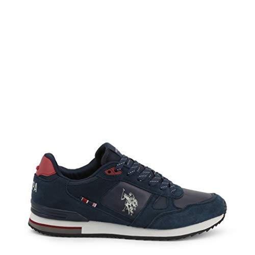 U.S. POLO ASSN. WILDE2, Sneaker Uomo, Blu (Dk Bl 002), 42 EU