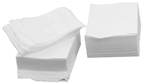 Sourcingmap Lot de 200 cotons à démaquiller rectangulaires Blanc