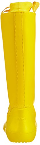 Crocs - Rainfloe, Stivali Donna Giallo (Yellow/Yellow)