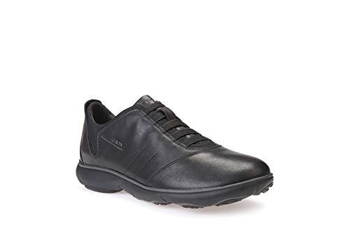 Geox U NEBULA B Herren Sneakers, Schwarz (Blackc9999), 42 EU
