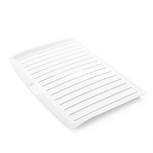 Lanlan Kunststoff Abtropfgestell Tablett Teller Küche Besteck Halterung Große Becken Rack Haushalt Supplies Counter Rack