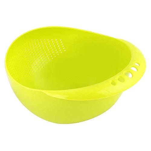 Generic Bowl Strainer - Rice, Fruits, Pulses, Vegetables, Noodles Bowl Strainer (Multi Color)