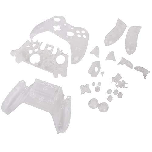 Gyswshh Ersatzgehäuse für Xbox One Controller, durchsichtig transparent durchsichtig - Ps3 Teile-kit Controller