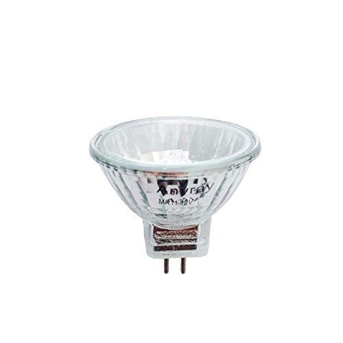 Anyray A1870Y 5-flammig 35 Watt klar MR11 12 Volt Präzisions-Halogen Reflektor Glasfaser Glühbirne 35W 12V Ge Fiber