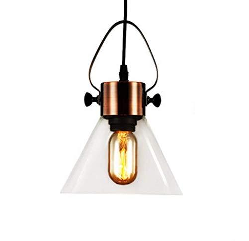 Linear-glas-anhänger (Zryh Küche lineare Insel Glas Kronleuchter Anhänger Beleuchtung Fixture-1 leuchtet Vintage)