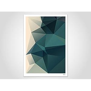 Ocean / Poster, Kunstdruck, Bilder, Kunstdrucke, Deko, skandinavisch, Papier, Pastell, Marmor, Blumen, Rosen, geometrisch, Frühling, Sommer