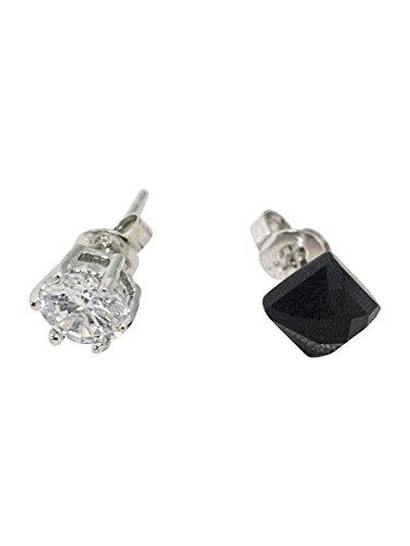 Pendientes de diamantes para hombre estilo onyx