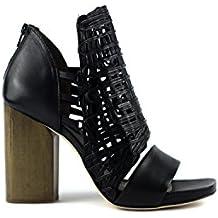 IXOS Sandalo Intreccio Nero 35101