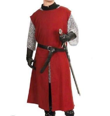 NASIR ALI AVMedieval Tunic Brown Full Sleeves Viking Men's Shirt Saxon Costume Fancy Dress -
