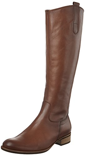 Braune Stiefel Frauen (Gabor Shoes Damen Fashion Stiefel, Braun (32 Caramello (Effekt)), 37 EU)