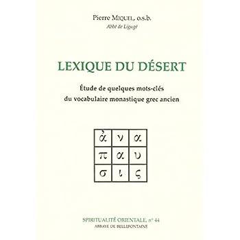Lexique du désert